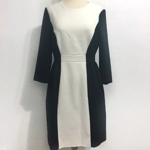 Kate Spade Tillie Dress Black and White Dress
